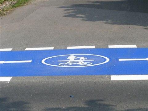 Radwegbeschichtung